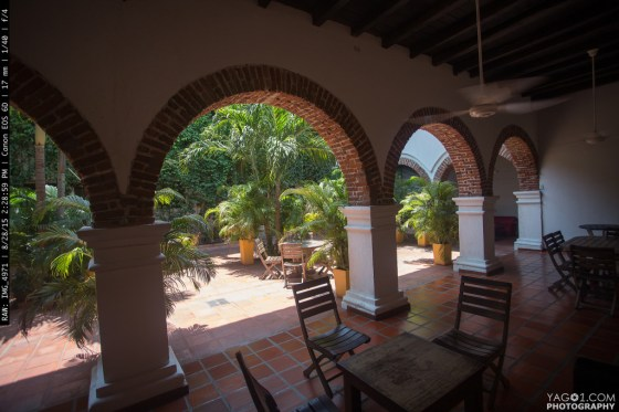 Colonial Santa Marta Patio Garden Colombia