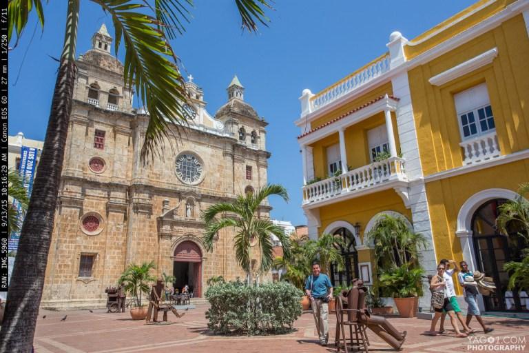 Sunny Colonial Cartagena Colombia