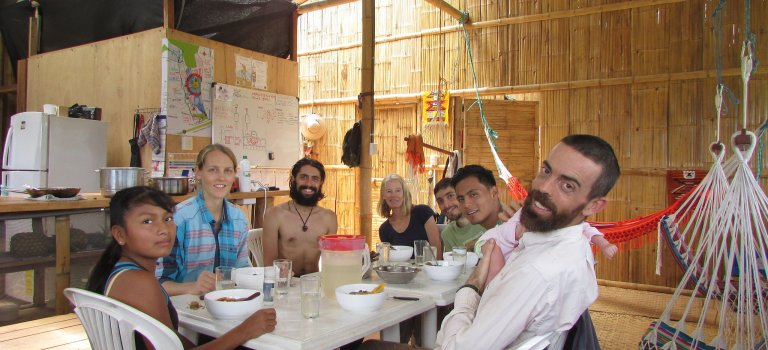 DETOX in Tropical Permaculture Farm in Ecuador: Permatree