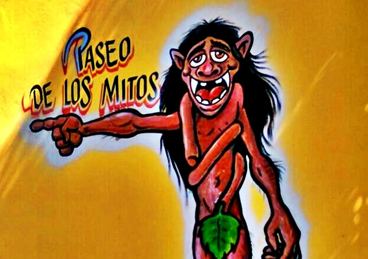 PASEO DE LOS MITOS