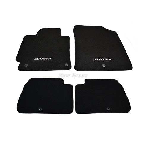 GENUINE FLOOR MATS FOR HYUNDAI ELANTRA 20112013 NEW  eBay