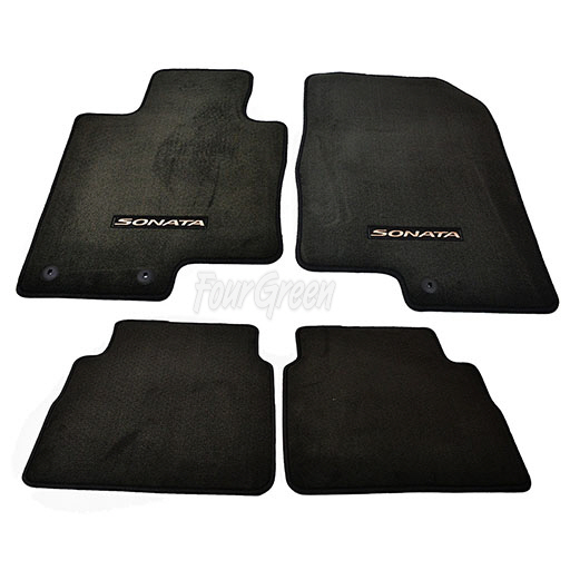 GENUINE FLOOR MATS FOR HYUNDAI SONATA 1114 3QF14AC200RY