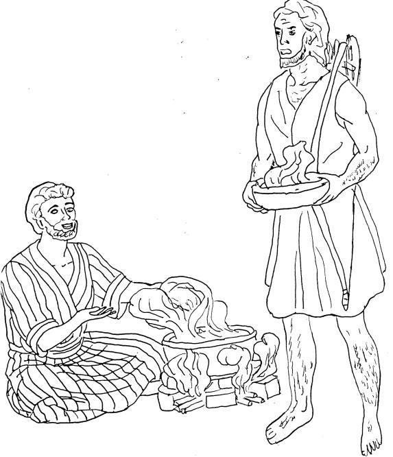 Jacob Esau Printable Coloring Pages