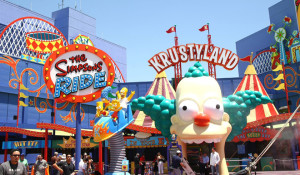 The Simpson's Ride launches at Universal Studios Hollywood
