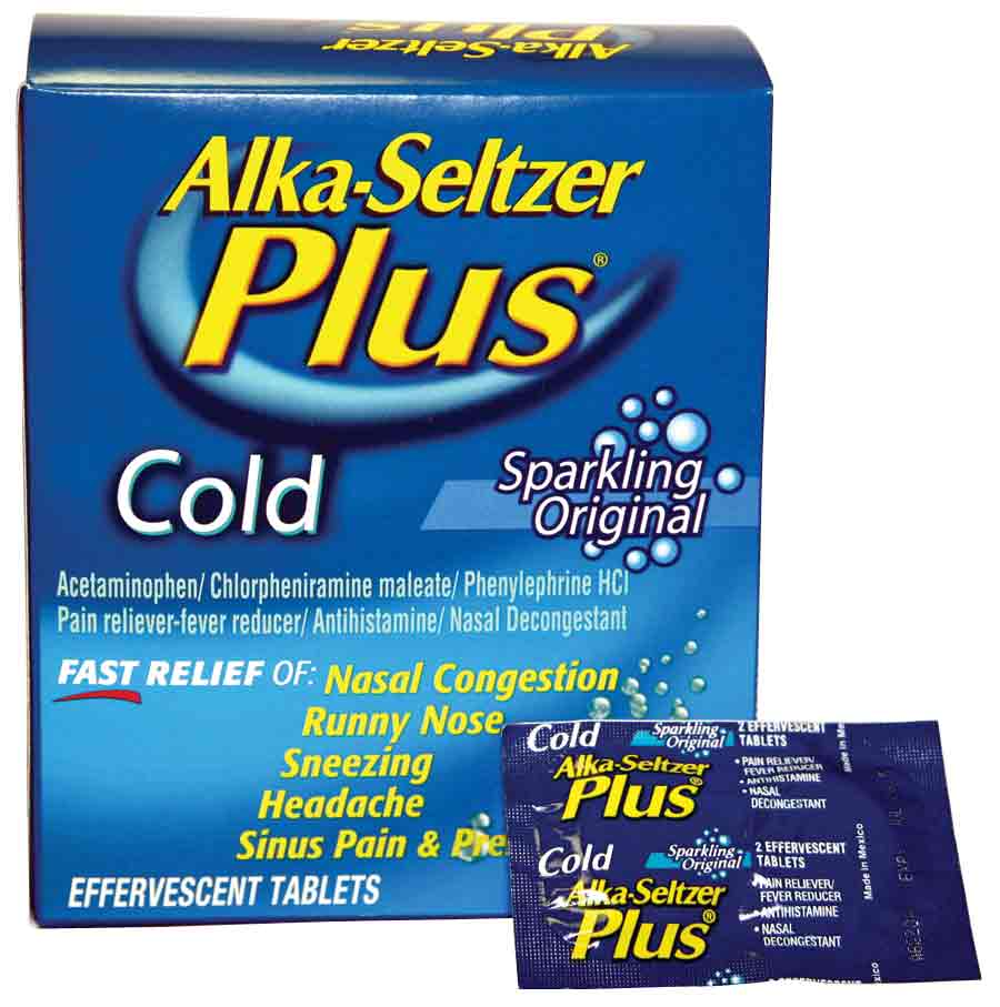 Alka-Seltzer Plus - YAHYA TRADING CORPORATION