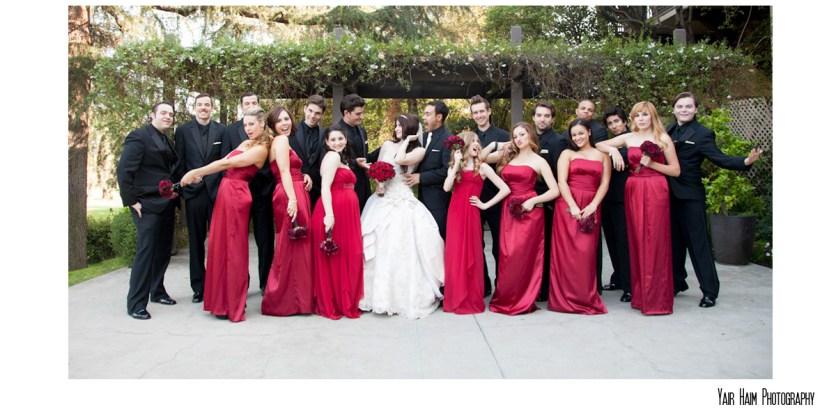 Altadena Cuntry club wedding-portaits-groomsman-bridesmate
