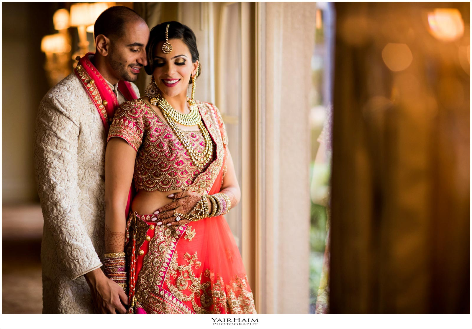 Indian wedding photos Langham Pasadena  Yair Haim Photography