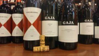 Gaja bottles