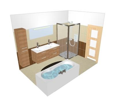 Un plan dune salle de bain - Faire plan salle de bain ...
