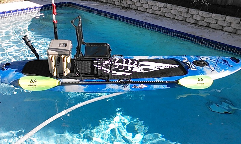 larry chair kayak blue recliner new toy kaku kahuna sup hybrid 1 yakangler they are starting to deliver boards up thru ga the carolina s virginia and texas check out there list of dealers