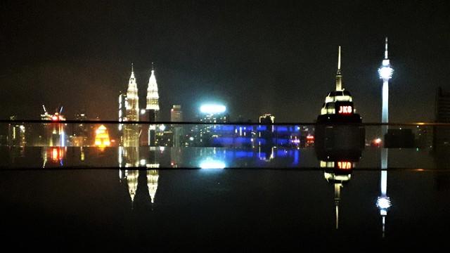 Malaisie Kuala Lumpur rooftop