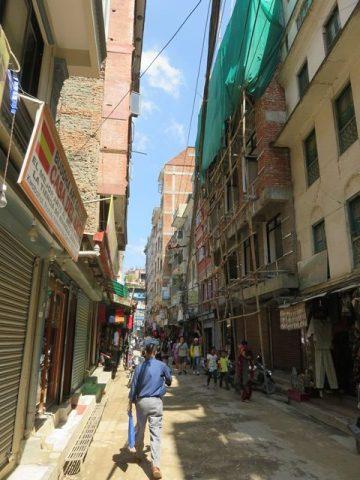 Népal Kathmandu Thamel
