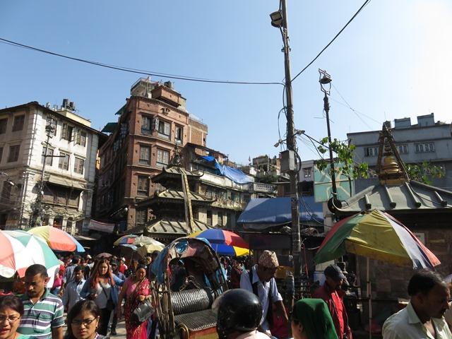 Népal Kathmandu quartier sud