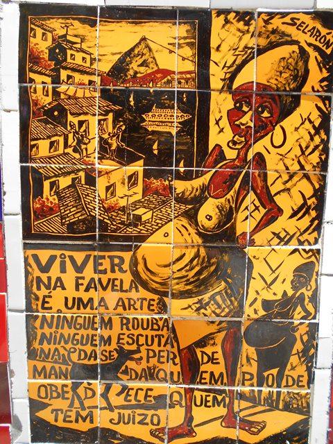 Brésil Rio de Janeiro Escalier Selaron