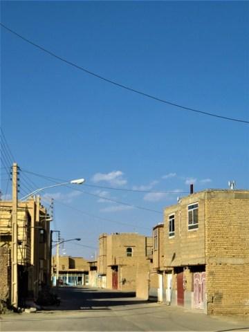 Iran désert varzaneh village