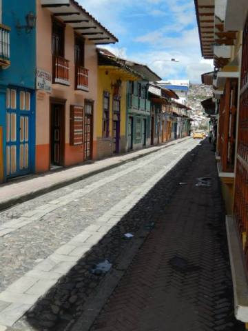 Equateur Loja Calle Lourdes