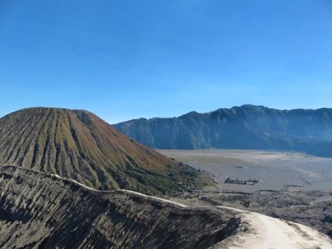 Java volcan bromo cratère