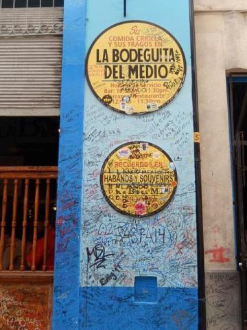 Cuba La Havane La Bodeguita del Medio