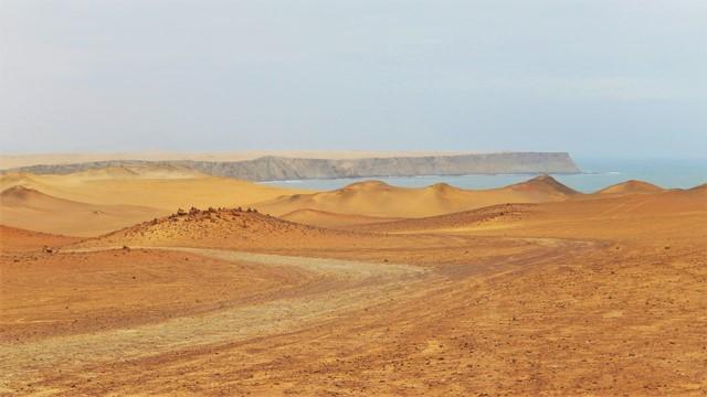 Pérou Paracas désert mer