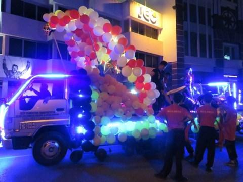 Bornéo Kuching fête religieuse