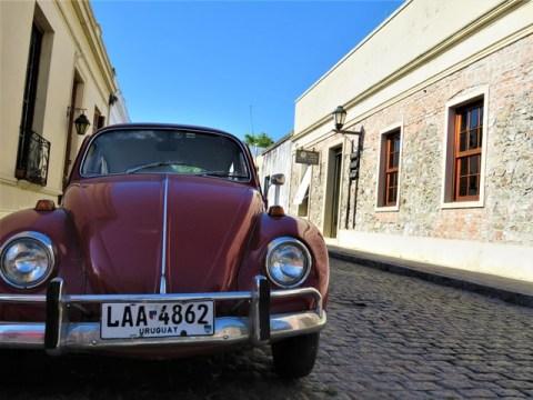 Uruguay Colonia vielle voiture