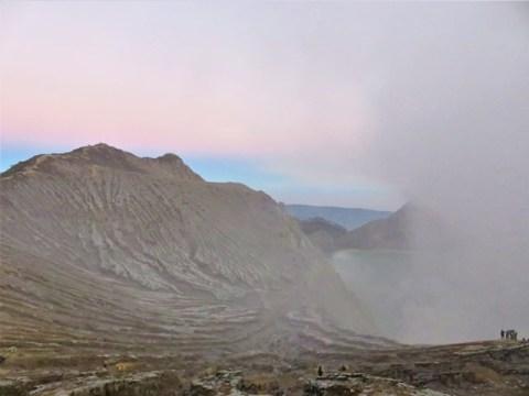 Java Kawah Ijen cratère