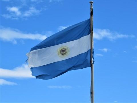 Argentine Ushuaïa drapeau argentin