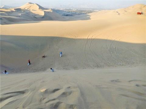 Pérou oasis huacachina dunes sandboard