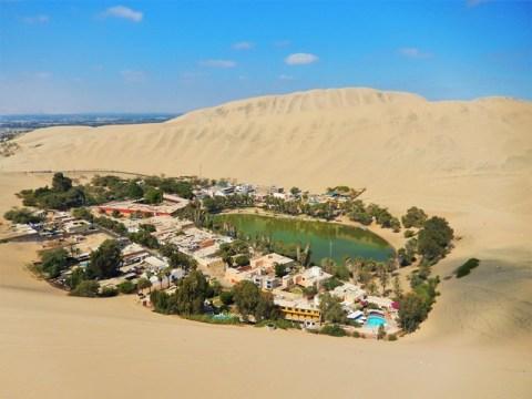 Pérou oasis huacachina