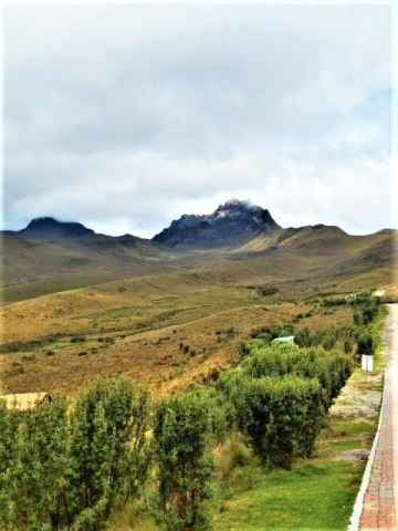 Equateur Quito Volcan Pichincha