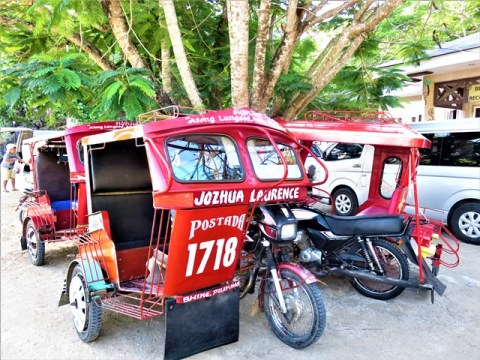Philippines Siquijor tricycle