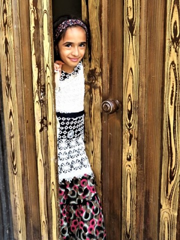 Iran Yazd enfant