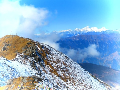 Népal Trek de Gosainkunda panorama