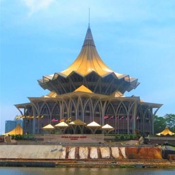 Bornéo Kuching parlement sarawak