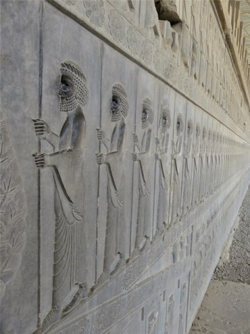 Iran Persépolis bas-reliefs