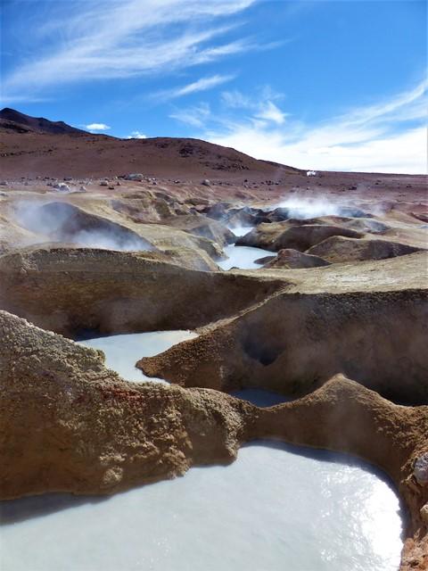 Bolivie Sud Lipez geysers Sol de Mañana