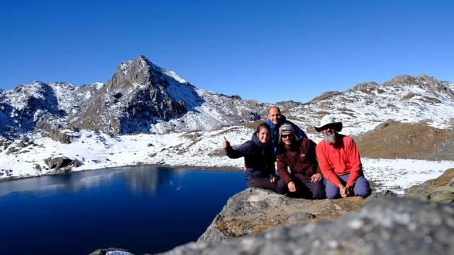Népal Trek de Gosainkunda col du Laurebina