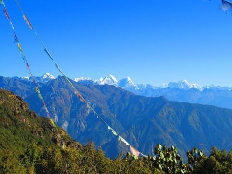 Népal Trek de Helambu col de Thadepati
