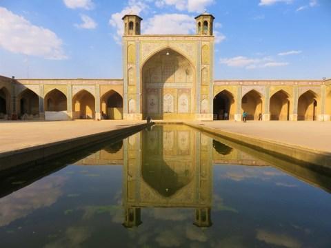 Iran chiraz Mosquée Bazar