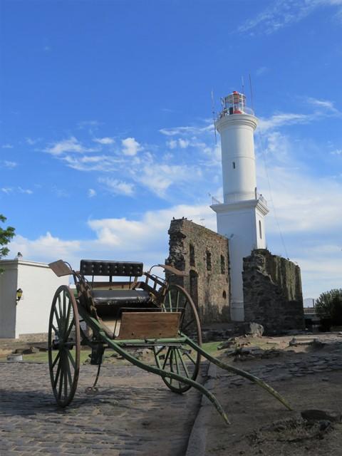 Uruguay Colonia phare
