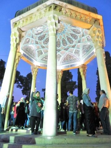 Iran chiraz Mausolée Hafez