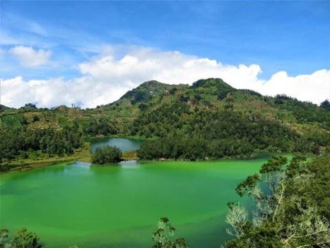 Java Plateau de Dieng lac Warna