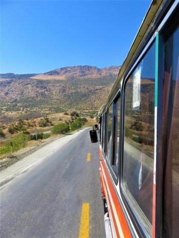 Iran Kurdistan Bus