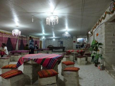 Bolivie Salar de Uyuni hôtel de sel
