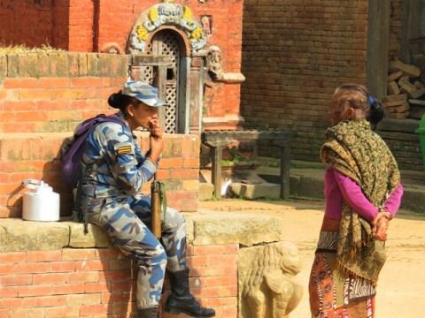 Népal Changu Narayan