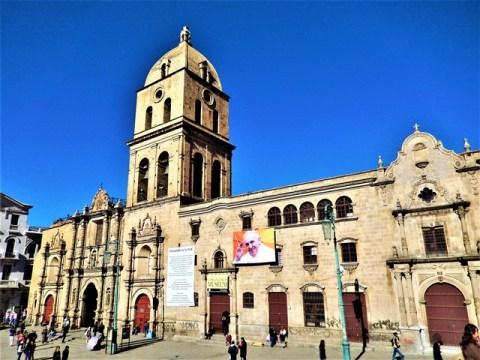 Bolivie La Paz église san francisco