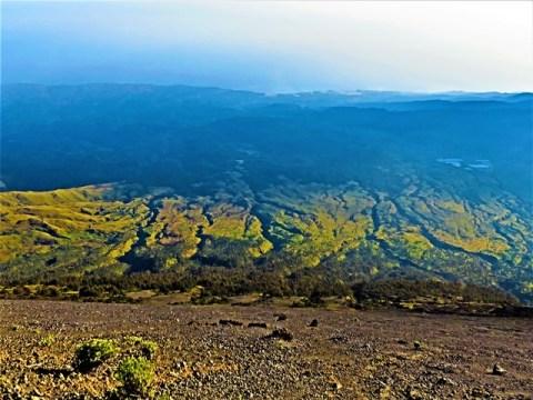 Lombok rinjani sommet