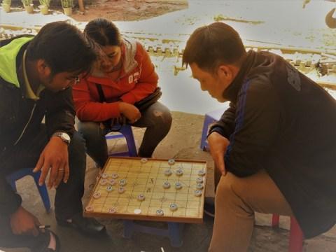 Vietnam Dalat échecs chinoises