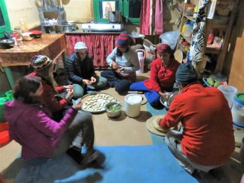 Népal Volontariat Nagarkot ferme