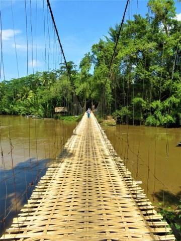 Java Batu Karas bamboo bridge